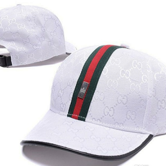 45550acb Men baseball cap Gucci white. M_5b6f54c6e944bad62b6de9a1. Other Accessories  ...